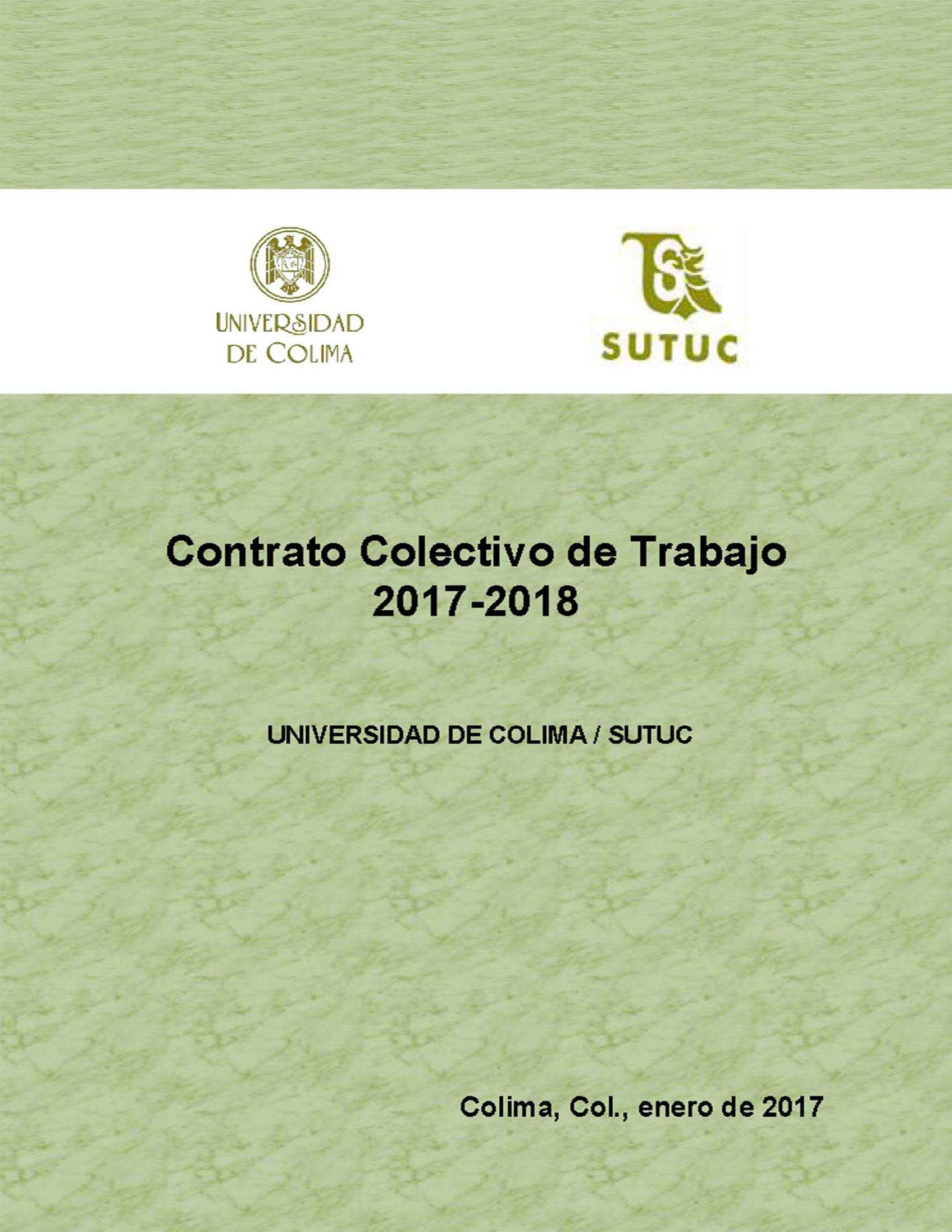 Universidad De Colima Normateca Contratos Colectivos De Trabajo